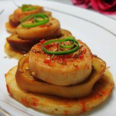 烤杏鲍菇土豆素鸡