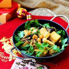 瑶柱菌菇烩豆腐