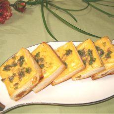 烤椒盐奶酪小土司
