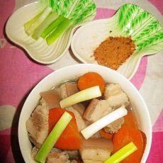 清炖五花肉胡萝卜