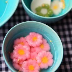 樱花汤圆的做法