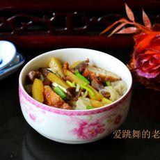 鸡杂土豆粉丝汤