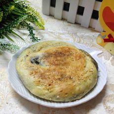 鸡蛋芝麻香酥饼