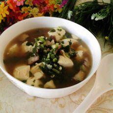 豆腐肉丝汤