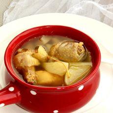 白萝卜炖土鸡
