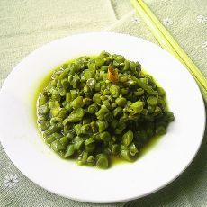 肉末酸豇豆