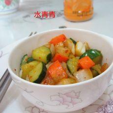 炒洋葱黄瓜胡萝卜丁