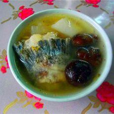 白萝卜煲鱼骨