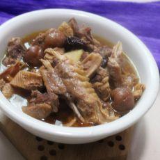 笋干鸭肉汤