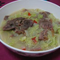 牛肉白菜的做法