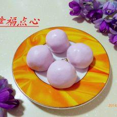 浅紫色元宵