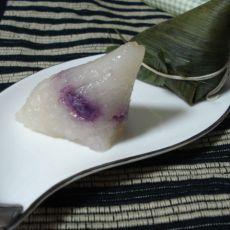紫薯水晶粽