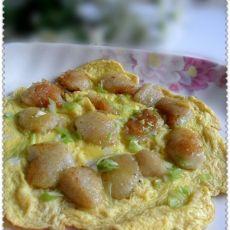 油煎粽子包蛋
