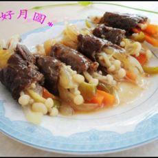 粽香金针肉卷