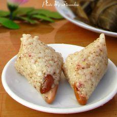 高粱米红枣粽子