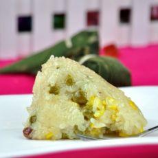 豌豆玉米粽子的做法