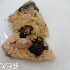 红枣花生粽子的做法