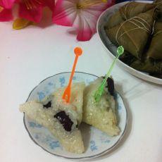 阿胶蜜枣粽子的做法