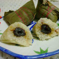 花生蜜枣粽子的做法
