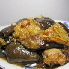 手撕茄子烧肉粽