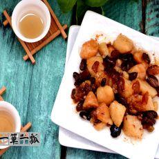 蜜汁八宝粽子