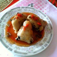 茄汁粽子的做法