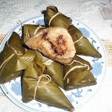 酱肉粽的做法