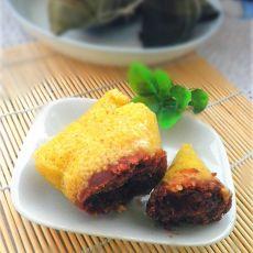 黄米豆沙粽