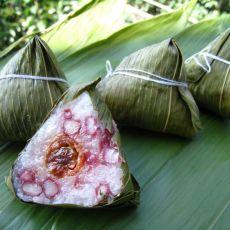 香肠红豆粽