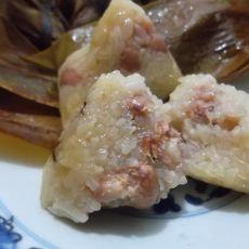 美味花生鲜肉粽