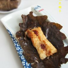 蜜枣枕头粽子的做法