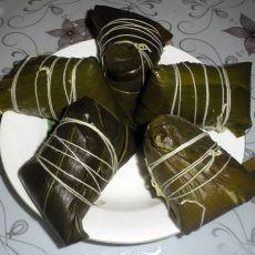 蜜豆大黄米粽子
