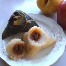 蜜枣糯米粽的做法