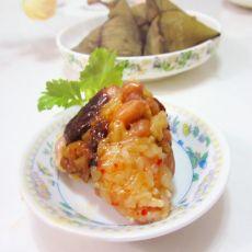 花生枣香猪肉粽的做法
