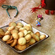 椰丝小饼的做法