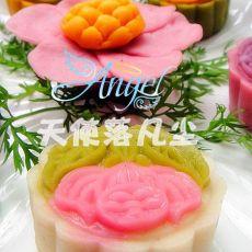 (中秋)冰皮月饼――花好月圆