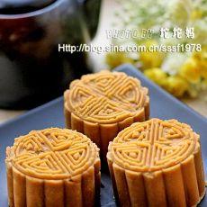 芝麻花生酱月饼