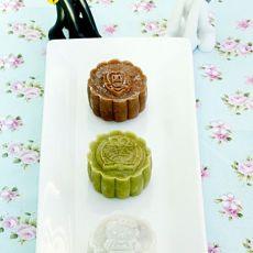 【中秋】+冰皮蔓越莓月饼
