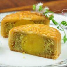 栗蓉蛋黄月饼的做法