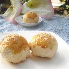 苏式葱油芝麻月饼