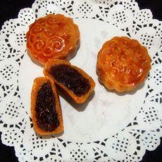 迷你蔓越莓月饼的做法