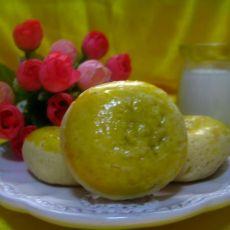 红豆沙小馒头-迷你日式月饼
