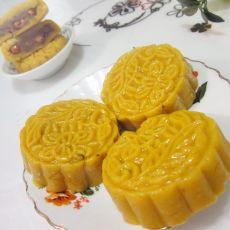 熟面花生月饼