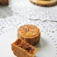 玫瑰南瓜广式月饼