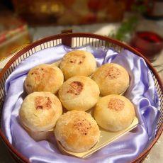 苏式桂花果仁细沙月饼