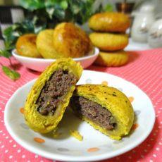 苏式咖喱味牛肉月饼