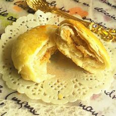 苏式肉松月饼