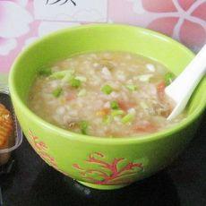 月饼西红柿米粥