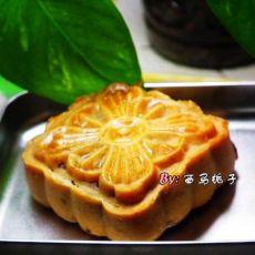 广式可可杏仁月饼