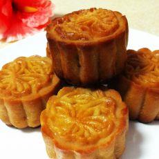 莲蓉蛋黄月饼